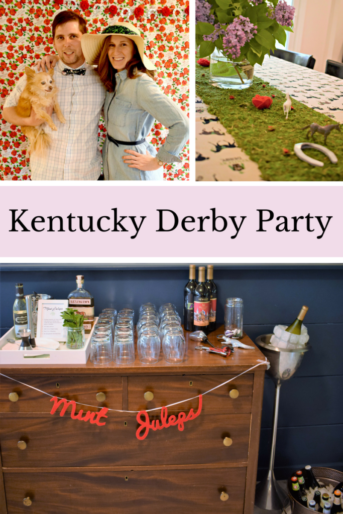 Kentucky Derby Party | Mint Juleps | How To Kentucky Derby Party | Kentucky Derby Party Decorations | Derby Photowall | Derby Photo Backdrop | Run for the Roses