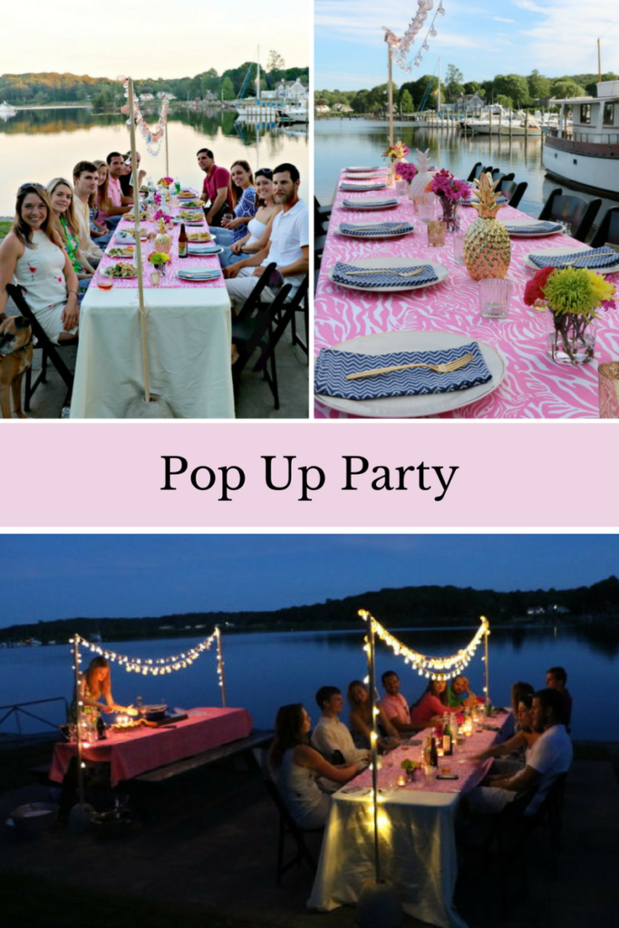 How to Throw a Pop Up Party