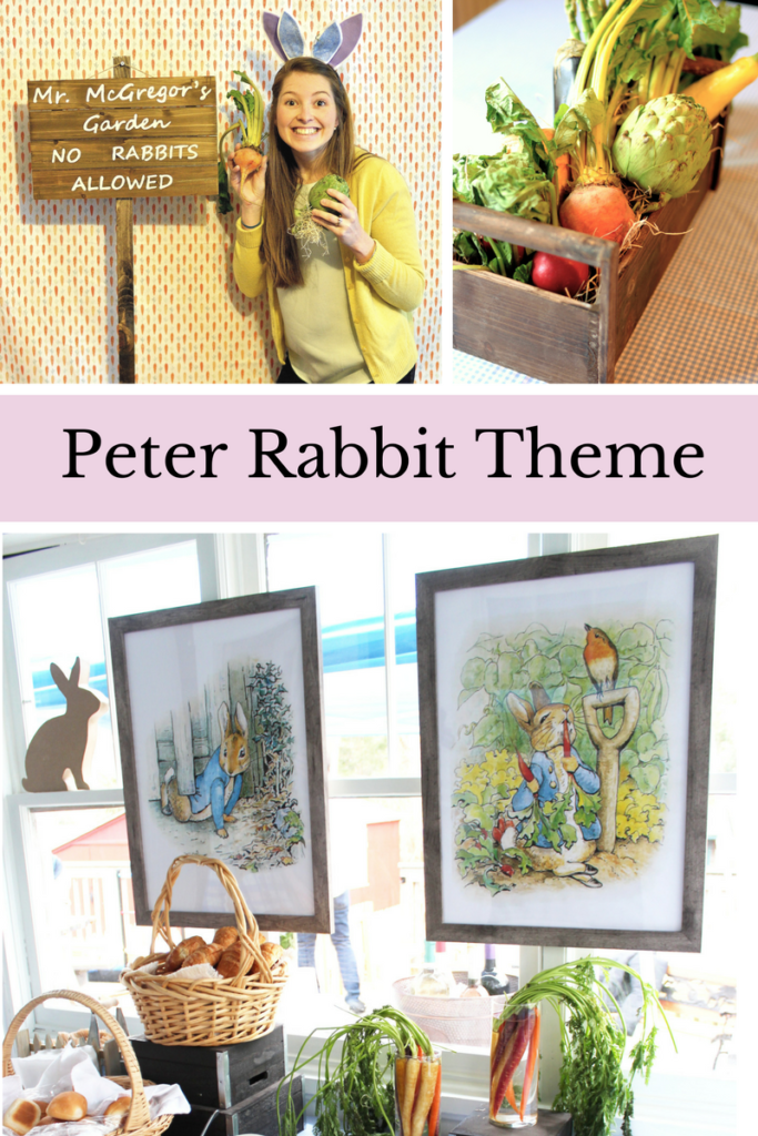 Peter Rabbit Theme Party | Peter Rabbit Theme First Birthday | Peter Rabbit Baby Shower | Boys Baby Shower Ideas | Baby Shower Themes | First Birthday Theme | Peter Rabbit First Birthday